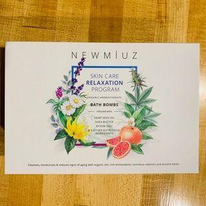 New Miuz organic hand made bathbombs gift set